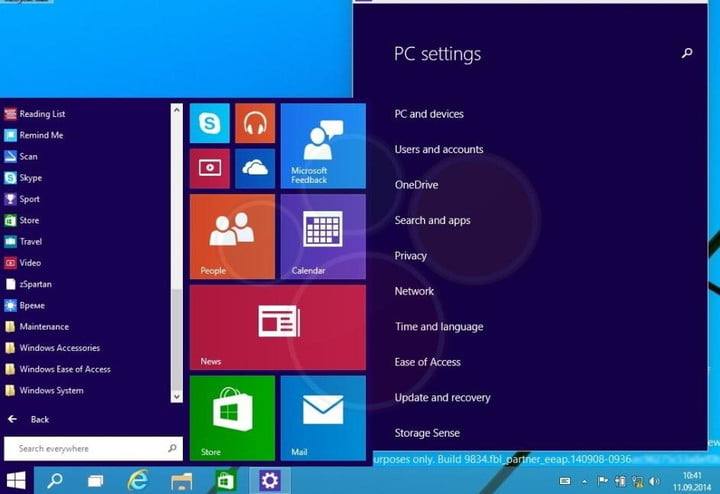 windows 9 five things we expect from microsofts next os start menu video leak