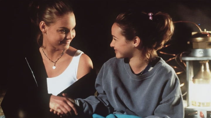 Katherine Heigl and Danielle Harris in Wish Upon a Star.