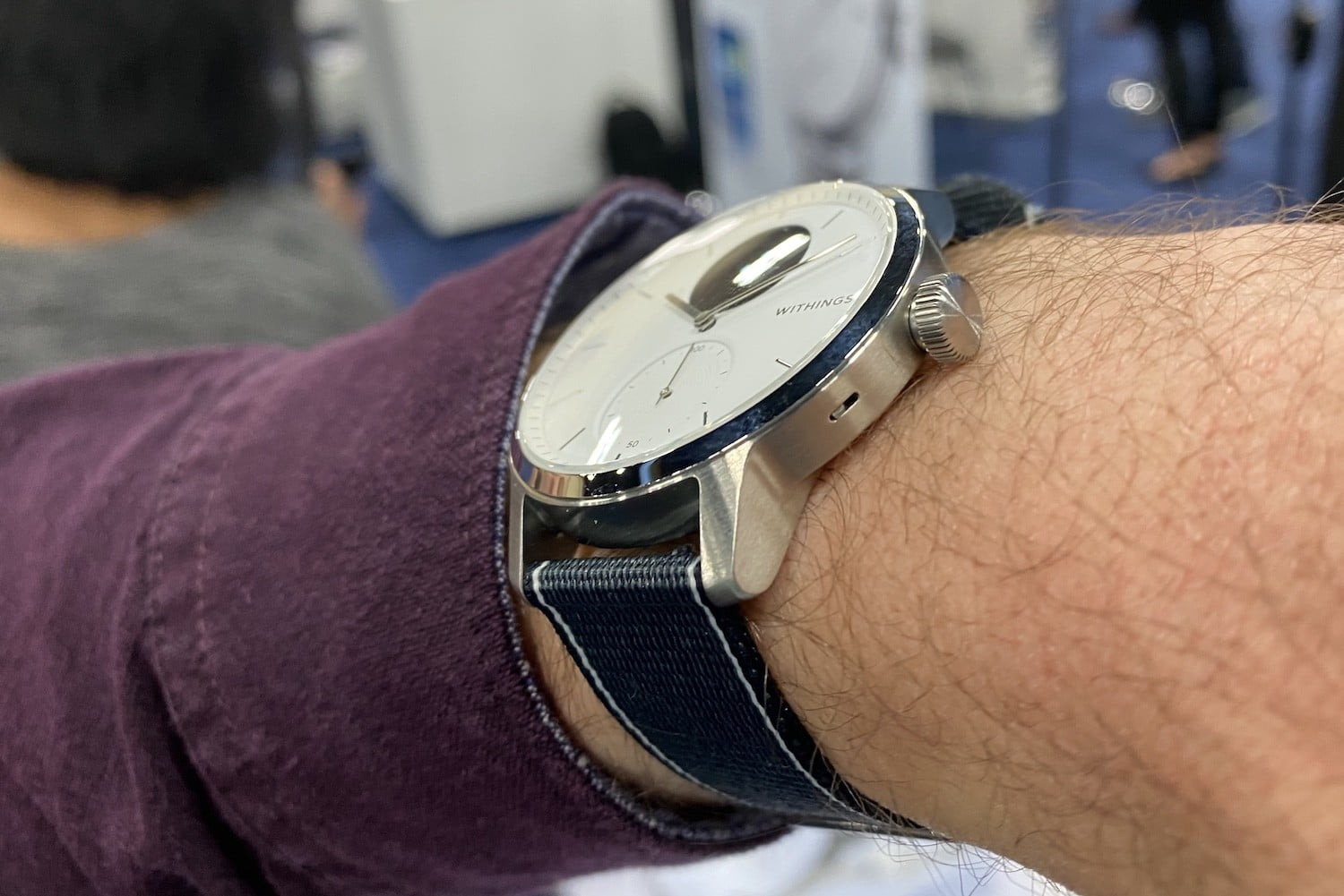 withings scanwatch smartwatch features price side
