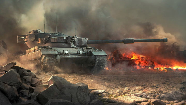 Microsoft Hololens brings a WWII Sturmtiger tank to life in augmented reality.