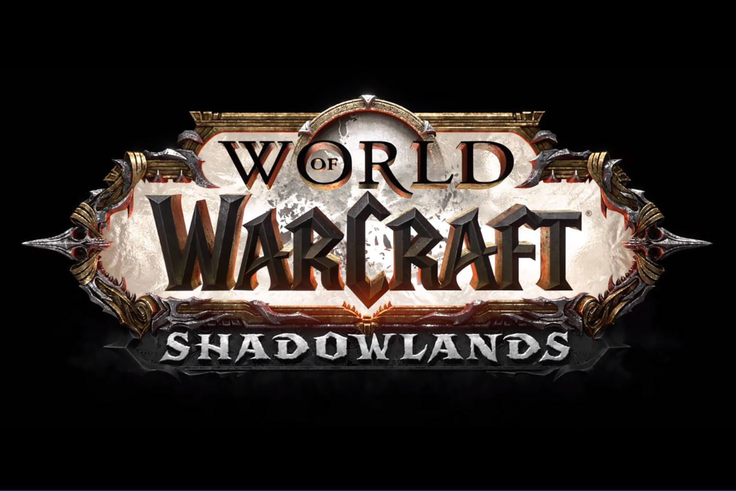 World of Warcraft Shadowlands announcement logo