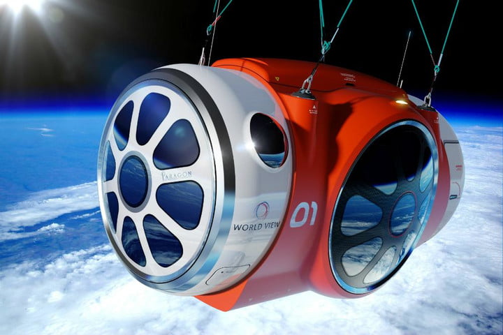 space tourism balloon passes first test service set lift 2016 world view