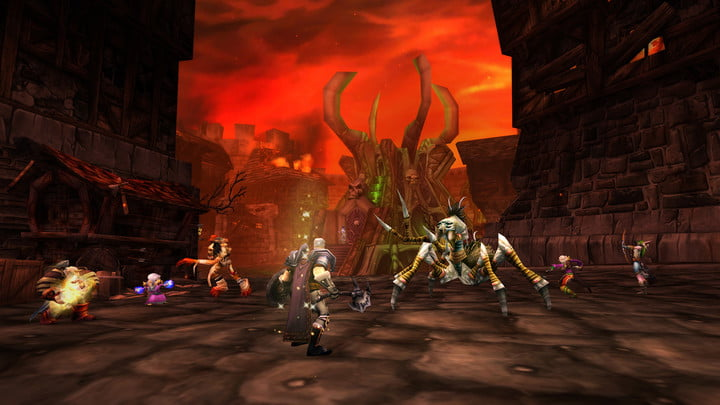 Dungeons like Stratholme can level up characters and prepare for TBC.