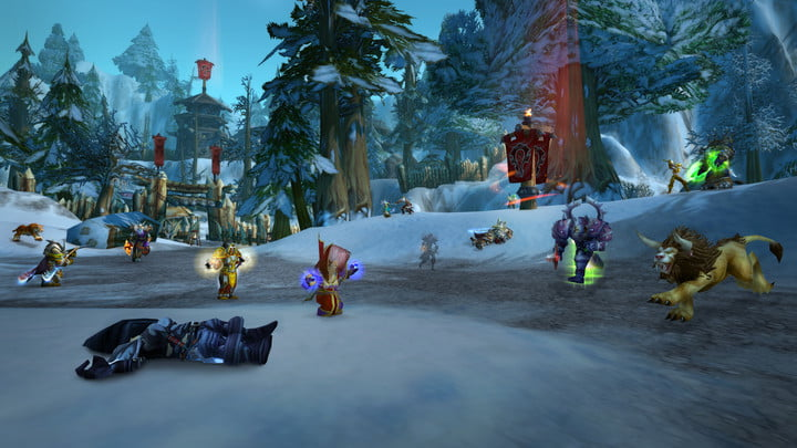 Alterac Valley is a great PvP battleground for leveling your boosted 58.