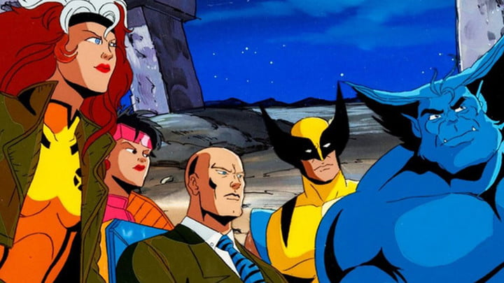 Professor Xavier and sone of the X-Man in X-Men: The Animated Series.