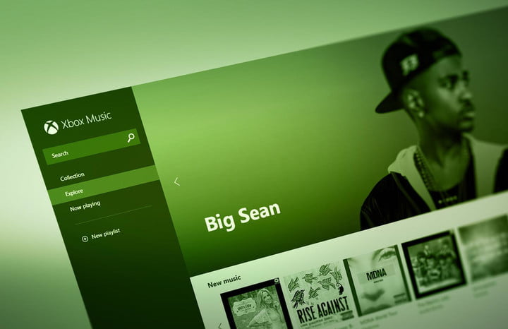 hands on xbox music browser