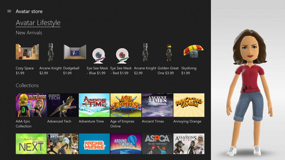 xbox one february update improves parties adds gamerscore leaderboards avatar store