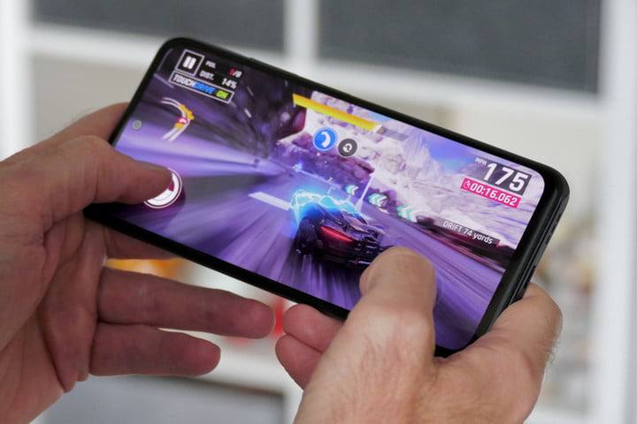 Game being played on the Xiaomi Redmi Note 10S.