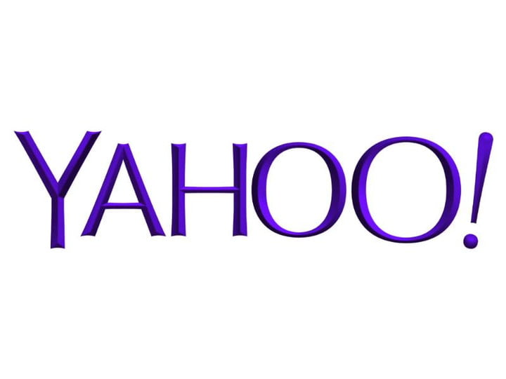 malware infected adverts appear yahoo logo detail