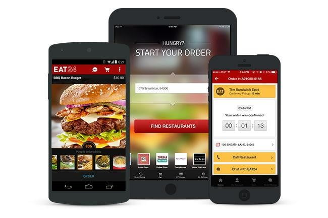 yelp buys eat24 food delivery app