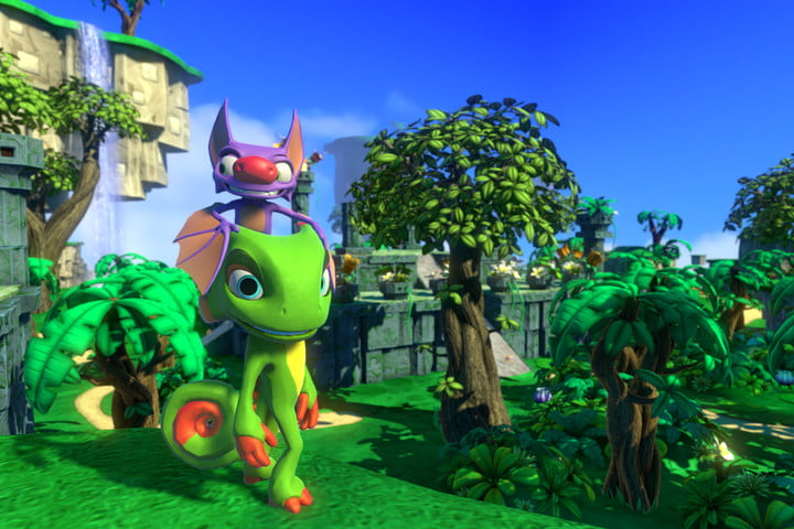 yooka laylee preview release to backers gall