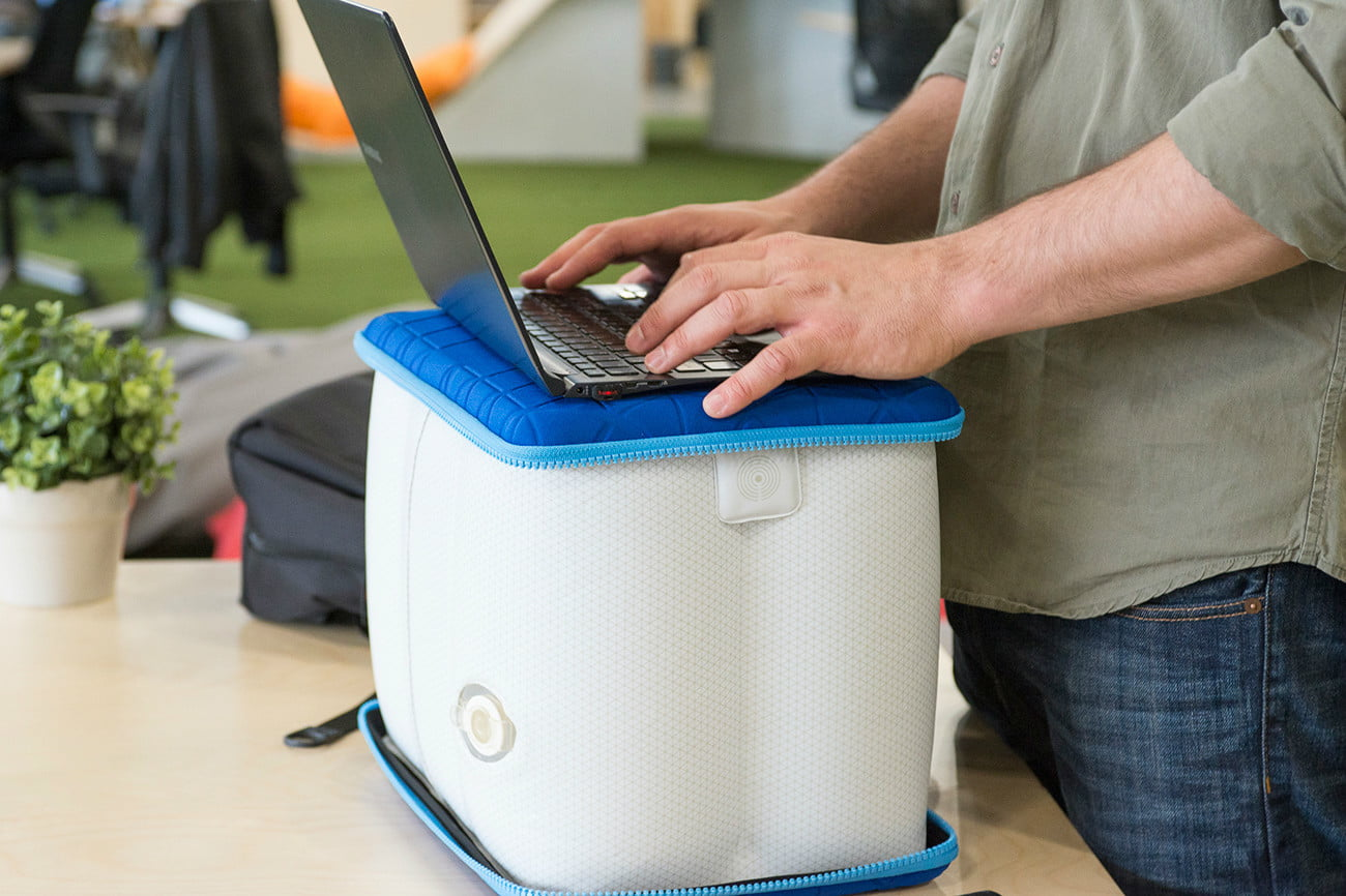 youp inflatable standing desk 1