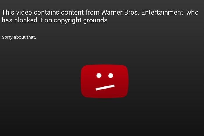 major labels consider removing music videos from youtube copyright