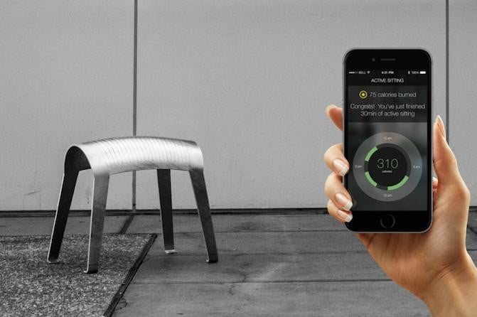 the zami smart stool improves your posture app