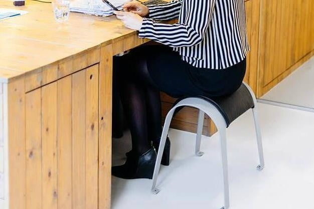 the zami smart stool improves your posture office
