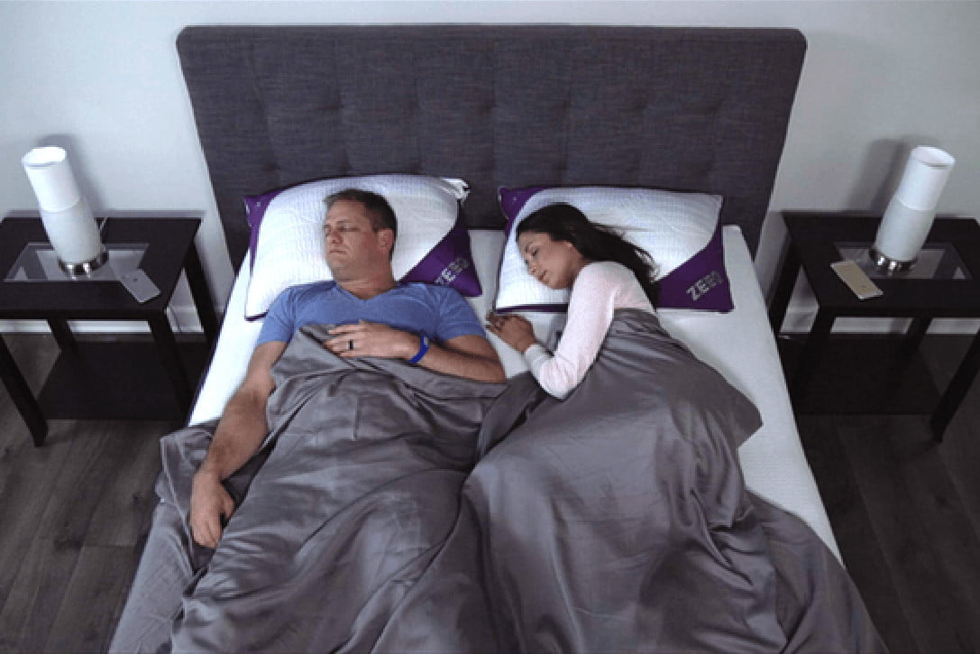 awesome tech you cant buy yet terra cinch pongbot zeeq  sleep tracking snore stopping smart pillow