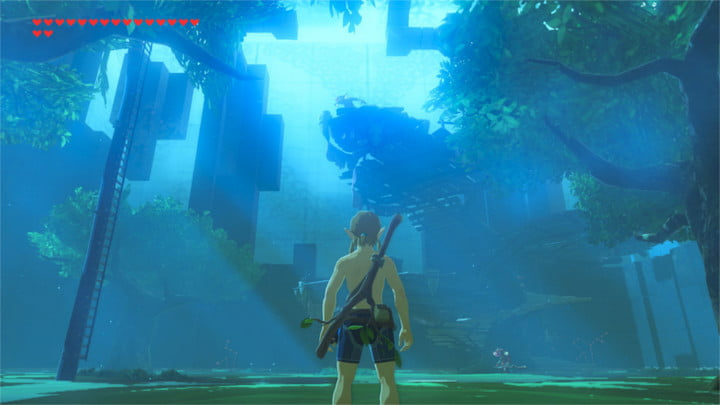 The Legend of Zelda: Breath of the Wild's Trial of the Sword DLC has been completed.