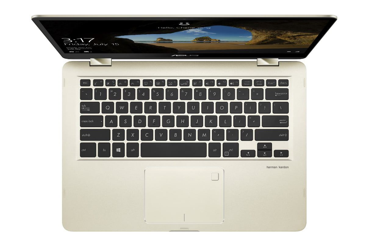 asus zenbook ifa 2017 news flip 14 ux461 product photo  1c icicle gold 09