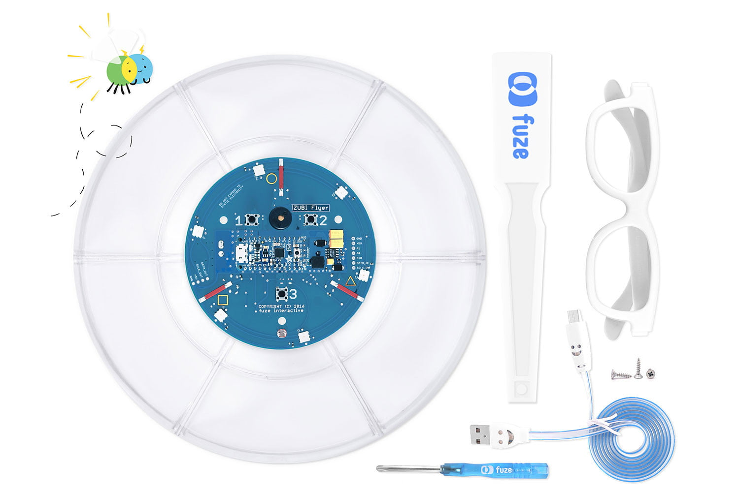 awesome tech you cant buy yet 9 11 2016 zubi flyer  the first hackable frisbee